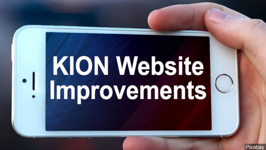 kion website improvements graphic