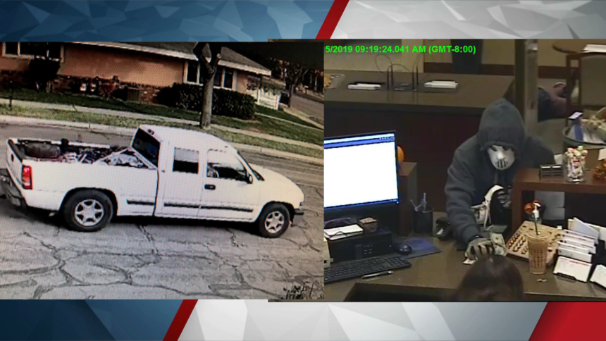 paso robles robbery truck and suspect