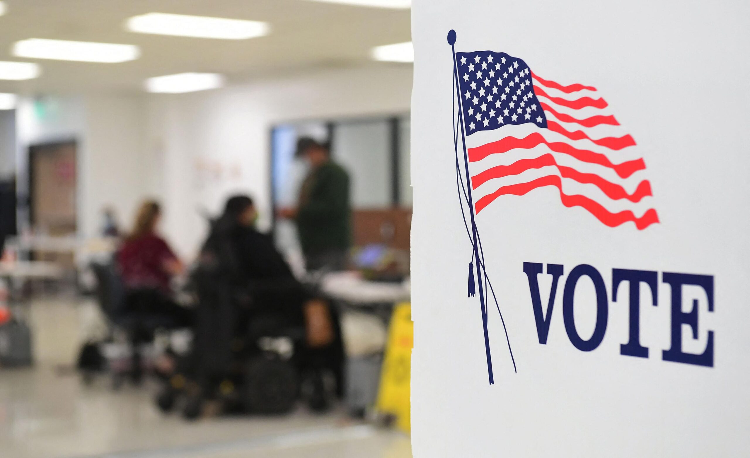 <i>FREDERIC J. BROWN/AFP/Getty Images</i><br/>California voters